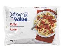 Pâtes sèches rotini de Great Value