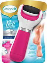 Amopé® Pedi Perfect™ Diamond Crystals™ Electronic Foot File