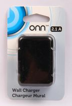 ONN 2.1 A Wall Charger - Black