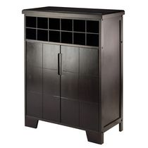 Winsome Bonnay Wine Cabinet in Espresso Finish - 92632