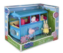 Peppa Pig School Bus Toy Vehicle