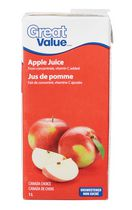 Great Value Apple Juice