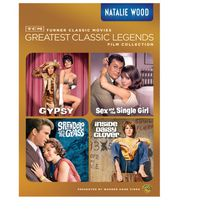 TCM Les Grandes Légendes Du Cinéma Collection De Films : Natalie Wood - Gypsy / Sex And The Single Girl / Splendor In The Grass / Inside Daisy Clover
