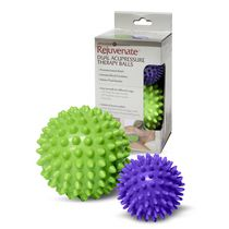 Zenzation Athletics Dual Acupressure Therapy Balls - 2 piece