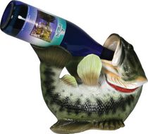 River's Edge Bass Wine Bottle Holder