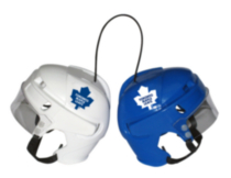 Casques miniatures Toronto Maple Leafs de la LNH