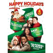 Happy Holidays Collection: All I Want For Christmas / Surviving Christmas / Last Holiday / Trading Places (Bilingual)