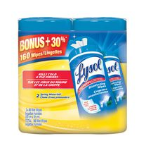 Lysol® Spring Water Fall Wet Wipes Value Pack