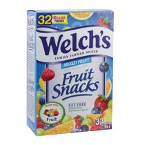 Welch's Gluten Free Mixed Fruit Snacks