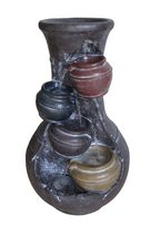 Balanced Pots Fountain with pump