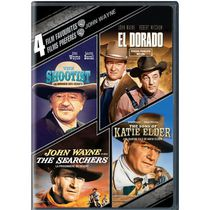 4 Film Favorites: John Wayne - The Shootist / True Grit / The Sons Of Katie Elder / El Dorado (Bilingual)