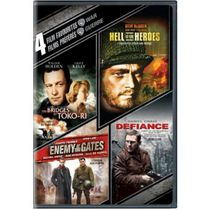 4 Film Favorites: War - The Bridges At Toko-Ri / Hell Is For Heroes / Enemy At The Gates / Defiance (Bilingual)