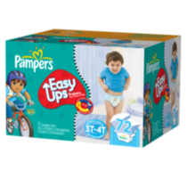 Pampers Easy Ups Boys' Training Pants Super Pack 3T-4T