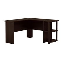Ameriwood L-Shaped Desk, Cherry