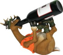 River's Edge Deer Wine Bottle Holder