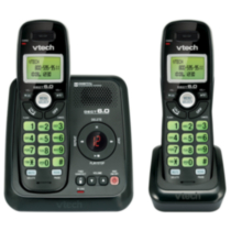 Vtech Two Handset Cordless Answering System with Caller ID