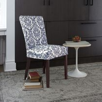 SureFit™ Chelsea Relaxed Fit Chair Slipcover Blue
