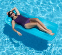 Marquis Pool Float - 70-in x 1.25-in Thick - Aqua