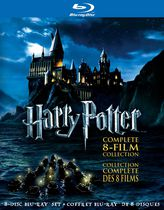 Harry Potter : Collection Complète Des 8 Films (Blu-ray)