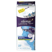 Serviettes d'incontinence longues Always Discreet, protection suprême