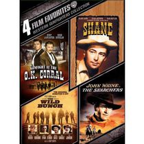 4 Film Favorites: Western Gunfighters Collection - Shane / Gunfight At The O.K. Corral / The Wild Bunch / The Searchers