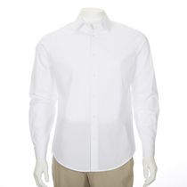 George Men's Long Sleeved Dress Shirt White 2XL/2TG
