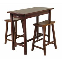 3pc Kitchen Island Table with stools, item 94344