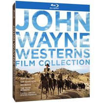 John Wayne Westerns Film Collection: Fort Apache / The Searchers / Rio Bravo / The Train Robbers / Cahill: United States Marshal (Blu-ray Digi-Book)