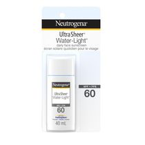 NEUTROGENA® Ultra Sheer® Water-Light® Daily Face Sunscreen Lotion - SPF 60