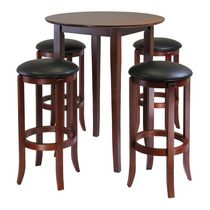 Fiona Round 5pc table with stools, item 94581