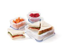 Lock & Lock Lunch Kit, 6 Piece