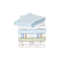 130-Thread Count Sheet Set French Blue Twin
