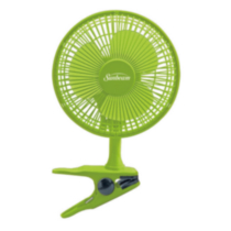 Sunbeam Personal Convertible Desk/Clip Fan Green