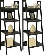 Dorel Ladder Bookcase Set