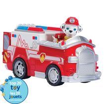 PAW Patrol Marshall's Firetruck Toy Vehicle and Action Figure