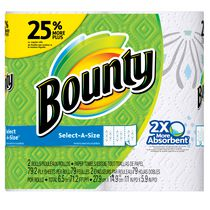 Bounty® Select-A-Size™ Paper Towels, Print