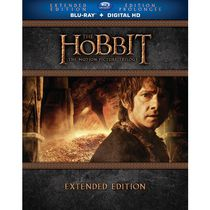 The Hobbit: The Motion Picture Trilogy (Extended Edition) (Blu-ray + Digital HD With UltraViolet) (Bilingual)