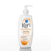 Keri Softly Scented Shea Butter Nourishing Therapy Lotion