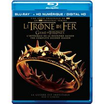 Game Of Thrones: The Complete Second Season (Blu-ray + Digital HD) (Bilingual)