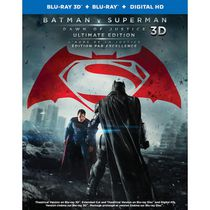 Batman v Superman: Dawn Of Justice (Blu-ray 3D + Blu-ray + Digital HD) (Bilingual)