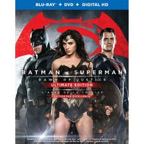 Batman vs Superman : L'Aube de la justice (Blu-ray + DVD + HD Numérique) (Bilingue)