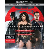 Batman v Superman: Dawn Of Justice (4K Ultra HD + Blu-ray + Digital HD) (Bilingual)