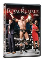 WWE Royal Rumble 2016 DVD