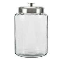 Anchor Hocking 2.5 Gallons Montana Glass Jar with Stainless Steel Lid