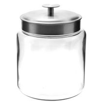 Anchor Hocking 96 oz Montana Jar with Stainless Steel Lid