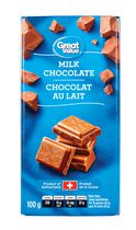 Great Value Milk Chocolate Bar