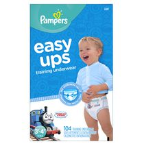Pampers Easy Ups Training Underwear for Boys, Giant Pack 3T-4T