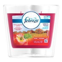Febreze Fresh Pressed Scented Candle Apple Air Freshener