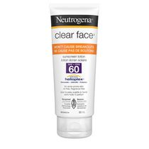 Neutrogena® Clear Face™ SPF 60 Sunscreen Lotion