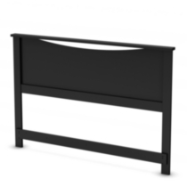 South Shore SoHo Collection Full/Queen Headboard Black
